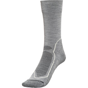 Icebreaker Hike+ Chaussettes montantes Homme, twister hthr/silver/oil